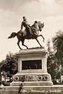 Cartolina - Siena - Monumento A Garibaldi - 1957 - Siena
