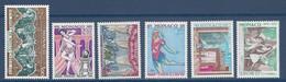 ⭐ Monaco - YT N° 1190 à 1195 - Neuf Sans Charnière - 1979 ⭐ - Unused Stamps