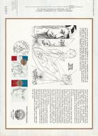 DOCUMENT FDC 1981 PHILEXFRANCE82 - 1980-1989