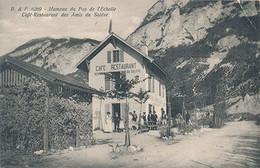 HAMEAU DU PAS DE L'ECHELLE - N° 6269 - CAFE RESTAURANT DES AMIS DU SALEVE - Altri Comuni