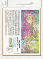 DOCUMENT FDC 1981 PEINTURE DE PISSARRO - 1980-1989