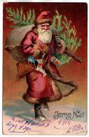 CP Gaufrée  Joyeux Noël - Other