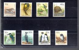 NOUVELLE ZELANDE 1011/1018** SUR DES OISEAUX POUR LA SERIE COURANTE - Unused Stamps