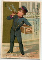 Chromo : Ticket De Chaise Des Promenades : CHAMPS ELYSEES - PARIS - Circa 1880 - N° 1 - Sonstige