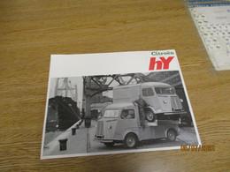Vieille Brochure De Voiture Citroen HY Portugal - Advertising