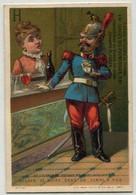Chromo : Ticket De Chaise Des Promenades : CHAMPS ELYSEES - PARIS - Circa 1880 - N° 2 - Sonstige