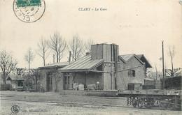CPA 59 Nord CLARY LA GARE - CAMBRESIS - Chemin De Fer - Altri Comuni