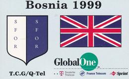 BOSNIEN-GLOBAL One-SFOR - Bosnia