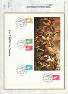 DOCUMENT FDC 1978 SABINES DE GANDON - 1970-1979