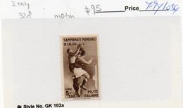 ITALIA - CAMPIONATO CALCIO 1934 -  Solo Lire 5 + 2,50 ** LINGUELLATO - Neufs