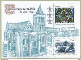 2015 France BF N° F 4930 ** Feuillet De La Basilique De Saint Denis - Nuovi