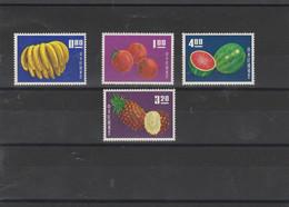 TAI WAN  FORMOSE  SET MNH**  FRUITS  COTE: 100 EUROS - Neufs