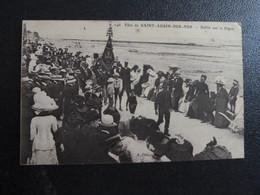 Z35 - 14 - Fête De Saint-Aubin-sur-Mer - Defilé Sur La Digue - 1917 - Hopital Complémentaire No 32 - Saint Aubin