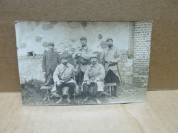 AUCH MIRANDE (32) Carte Photo Groupe De Militaire Du 88è Régiment Infanterie Au Front - Auch