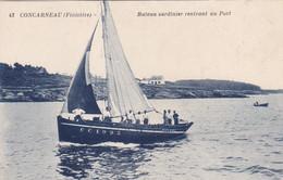 Finistère - Concarneau - Bateau Sardinier Rentrant Au Port - Concarneau