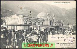 MONTE-CARLO Café De Paris 1906   Voiture Ancienne - Bars & Restaurants