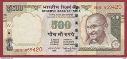 Inde 500 Rupees 2015 Dans L 'état---(260) - India