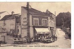 CPA   EPINAY Sous SENART   Maison TOURTIER , Mairie De La Commune Libre - Epinay Sous Senart