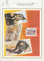 DOCUMENT FDC 1979 PEINTURE DE SALVADOR DALI - 1980-1989