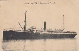 SS ANFA : Compagnie  Paquet - Piroscafi