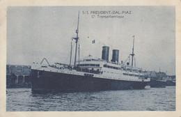 SS PRESIDENT-DAL-PIAZ : Compagnie Transatlantique - Piroscafi