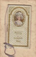 Calendrier 1913 Carnet Carte Parfumée Parfum Parfumerie Laurent Paris (complet) - Small : 1901-20
