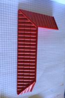 Toit D'angle Rouge  Playmobil 30211012 4857 - Playmobil