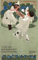 CPA - AMSTERDAM - CACAO BENSDORP - Pierrot - Pubblicitaria, Publicité, Advertising - NV - PU505 - PIEGHE D'Angolo! - Reclame