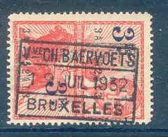K783-BELGIE Fiscale Zegel Stempel CH BAERVOETS BRUXELLES - Stamps