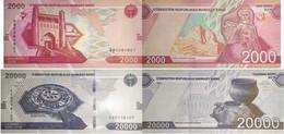 UZBEKISTAN 2000 20000 Som 2021 P New UNC - Uzbekistán