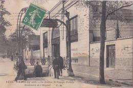 Station De Campo- Formio/ BD De L'Hôpital - District 13