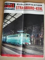 Vie Du Rail 1073 1966 Strasbourg Port Du Rhin Kehl Pont Du Goulet Colonie De La Forge à Walbach St Etienne La Terrasse - Trains