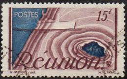 Réunion Obl. N° 278 - Détail De La Série émise En 1947 - Usados