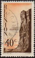 Réunion Obl. N° 264 - Détail De La Série émise En 1947 - Le 40c Sépia Et Orange - Oblitérés