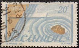 Réunion Obl. N° 279 - Détail De La Série émise En 1947 - Usados
