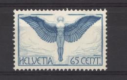 0ch  0701 -  Avion  -  Suisse  :  Mi  189 ZI    Yv  10  *  Grillé - Ongebruikt
