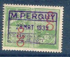 K749- BELGIE Fiscale Zegel Stempel M PERQUY GENT - Stamps