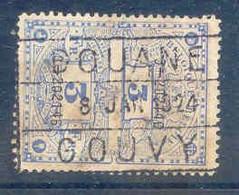 K697- BELGIE Fiscale Zegel Stempel DOUANE  COUVY - Stamps
