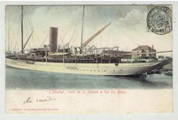 OSTENDE ? - L' Alberta - Yacht De Sa Majesté Le Roi Des Belges - Gekleurd - Oostende