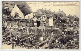 Adinkerke - Souvenir Guerre 1914-18 - Tombes Militaires Dans Le Cimetière Civil - Soldatengraven Op Het Burgerkerkhof - De Panne
