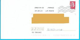 NOUVEAU Marque De Tri CS [50100] Marianne L'engagée Déchiré Mais Sans Taxe Toshiba - Mechanische Stempels (varia)