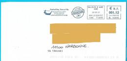 NOUVEAU Marque De Tri CS [50100] EMA ML 102640 Flamme Sallèles D'Aude Joutes Languedociennes - Mechanische Stempels (varia)