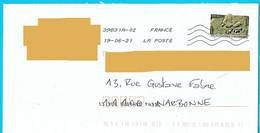 NOUVEAU Marque De Tri Rappel Numéro Et Nom De Rue Imprimé Par La Poste Timbre Empreinte Babouin Toshiba - Mechanische Stempels (varia)