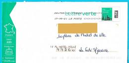 NOUVEAU Marque De Tri Rappel Numéro Et Nom De Rue Imprimé Par La Poste Enveloppe Prétimbrée Toshiba - Mechanische Stempels (varia)