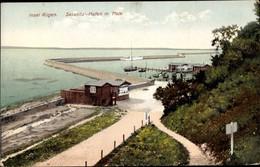 CPA Sassnitz Auf Der Insel Rügen, Hafen Mit Mole - Autres
