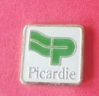 PIN'S - PICARDIE (Logo) - Villes