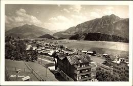 CPA Leysin Kt. Waadt Schweiz, Vogelschau über Den Ort, Häuser - VD Waadt