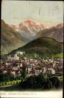 10 Alte Ansichtskarten Interlaken Kt. Bern Schweiz, Diverse Ansichten - BE Berne