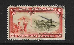 NUEVA ZELANDA - CLÁSICO. Yvert Nº 254 Usado Y Defectuoso - Used Stamps