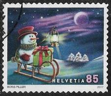Switzerland 2017 Christmas 85c Good/fine Used [37/30134/ND] - Oblitérés